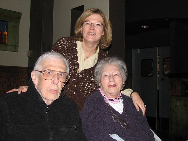 Susan, Dad and Mom
