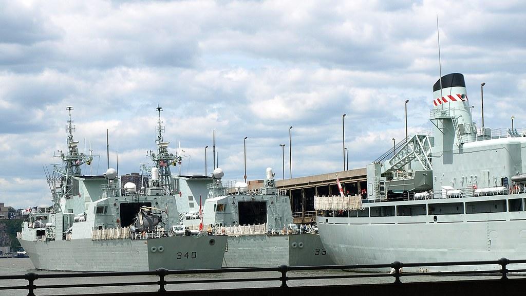 Canadian Navy Ships at 2008 Fleet Week, New York City   Flickr