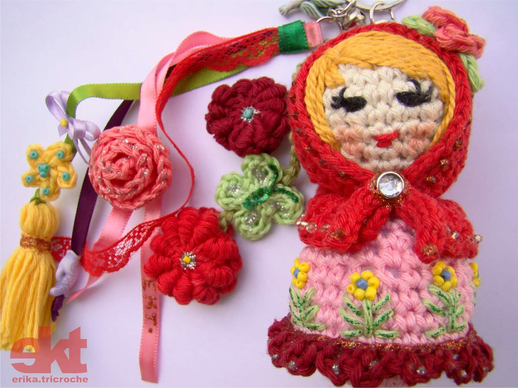 Crochet Matryoshka Amigurumi Pattern - Others - doitory - doitory | 768x1024
