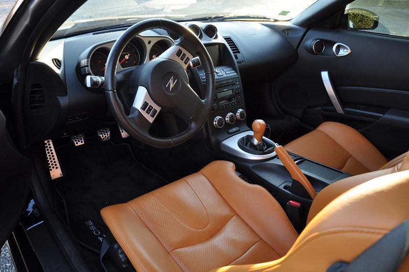 350z Interior