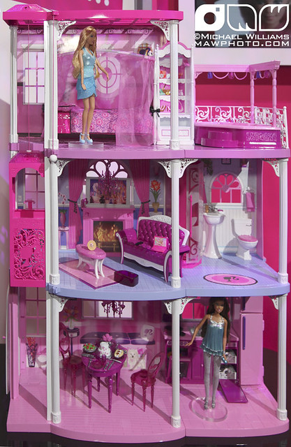 NEW Barbie Dreamhouse with Elevator | The Mattel Showroom fo… | Flickr