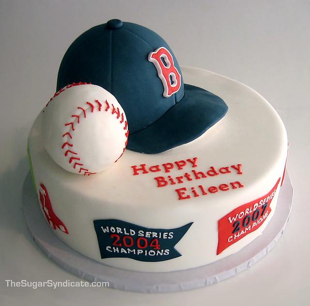 Boston Red Sox Birthday Cake | © The Sugar Syndicate Custom … | Flickr