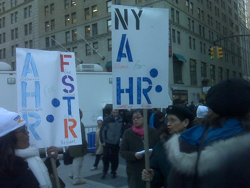 AHR Mercedes and Gabriela Rally at City Hall.jpg   Members ...