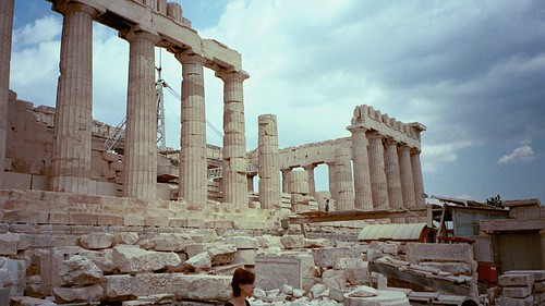 The Parthenon on the Acropolis in 2000   by dionhinchcliffe