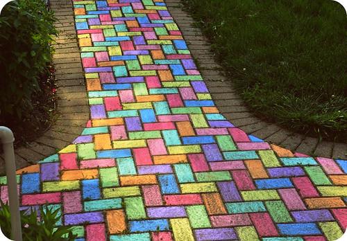 Sidewalk Chalk May 31, 2009 | by eklektick