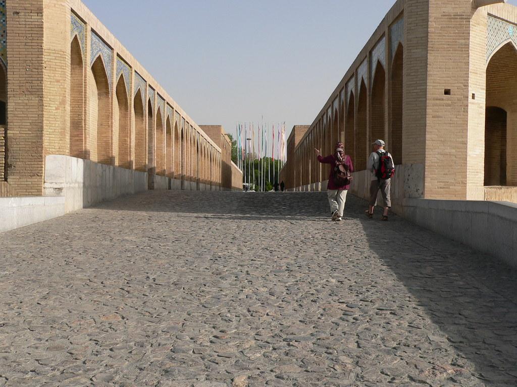 P1090009 Isfahan, Iran: Khaju Bridge