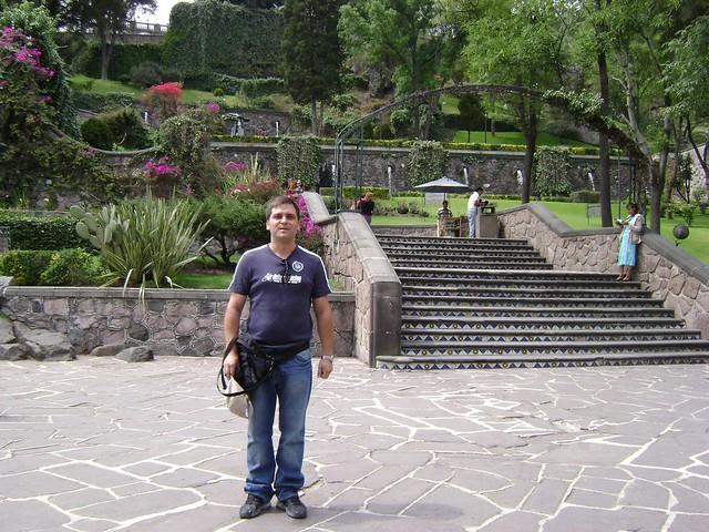 Jardín, Santuario de Guadalupe, Tepeyac, Ciudad de México/Garden, Guadalupe, Mexico City - www.meEncantaViajar.com