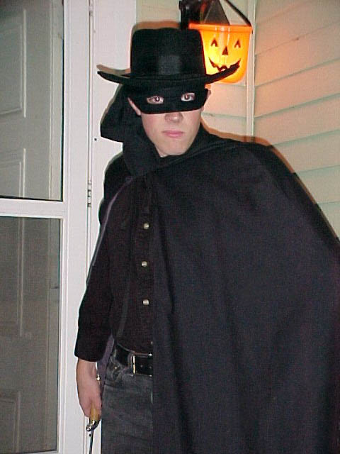 Daniel as Zorro