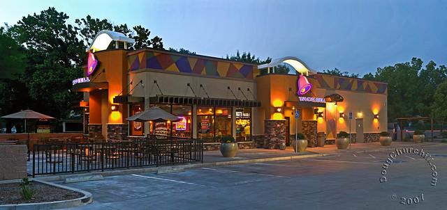 Taco Bell pano • Chico, CA