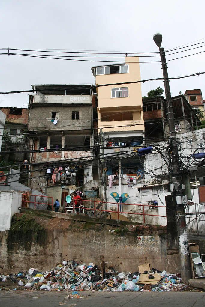 Favela da Rocinha Trash