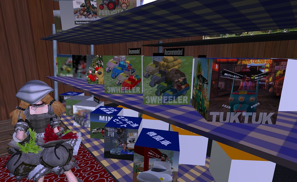 if you've ever wondered where to get a thai TUK TUK in Second Life...