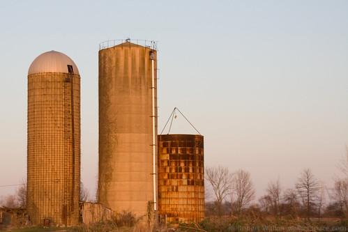 decay farm silo