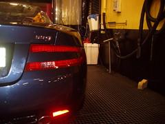 Lavado coches. Aston Martin DB9