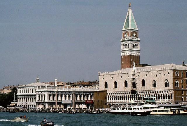 Venedig - San Marco mit Campanile und Dogenpalast  - 3