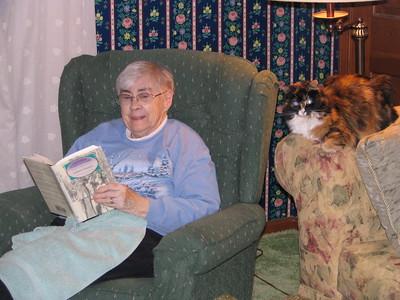 Gramma at Thanksgiving