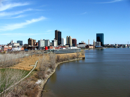 ohio water river downtown day toledo maumee pwpartlycloudy