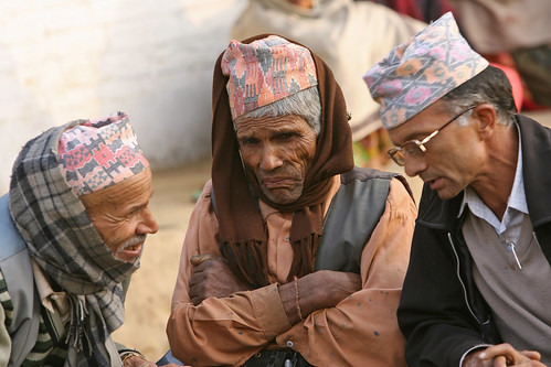 Three men Kaski, Nepal | by World Bank Photo Collection