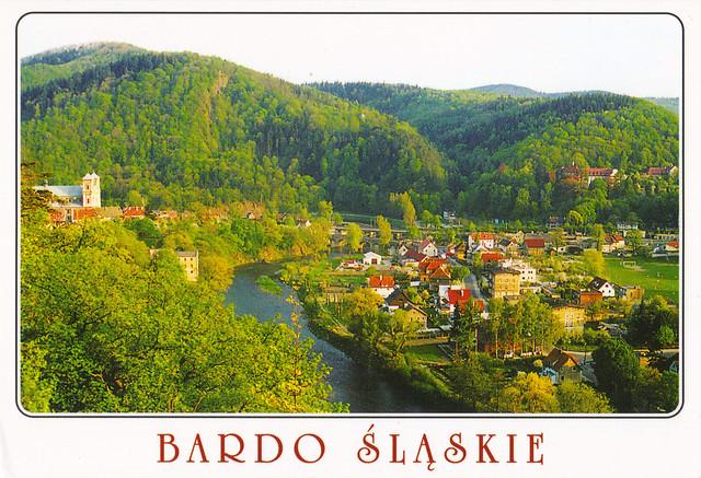 Bardo Slaskie Poland Postcard