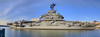 The USS Intrepid at Berth by -ytf-