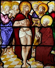Risen Christ and St Thomas