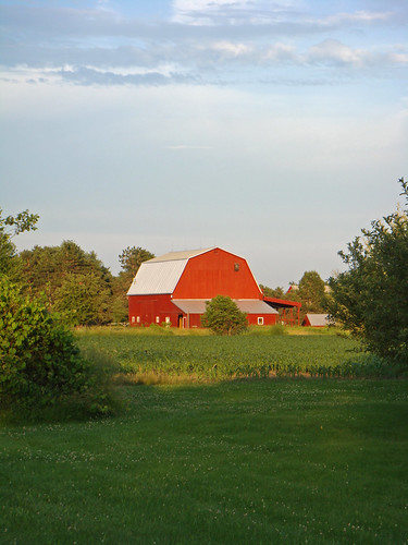 red barn rural michigan farm country farming ag agriculture raytownship