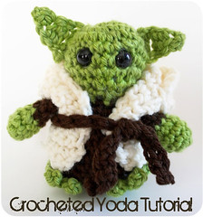 A Little Crocheted Yoda | by ohsohappytogether
