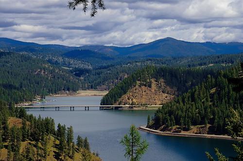 lakes idaho i90 lakecoeurdalene wolflodgebay beautybay beautybayviewpoint bluecreekbay