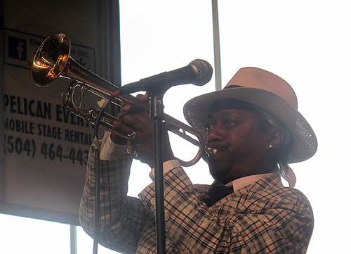 Kermit Ruffins & the Barbecue Swingers at Gulf Aid