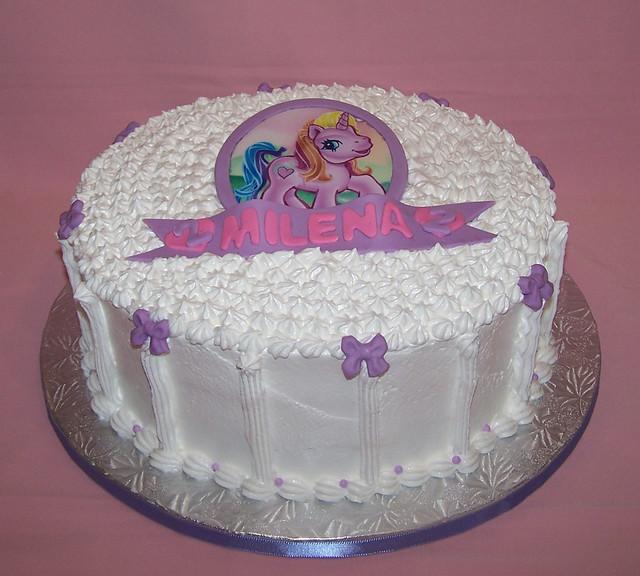 My Little Pony cake - Meringue cake