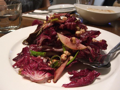 Radicchio, Pear, Hazelnut Salad with Pecorino Cheese and vincotto Dressing - Solarino AUD13.90 | by avlxyz