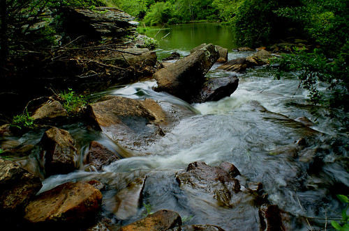 water creek waterfall alabama tuscaloosa alabadrock deerlickcreek alalto lakenicol