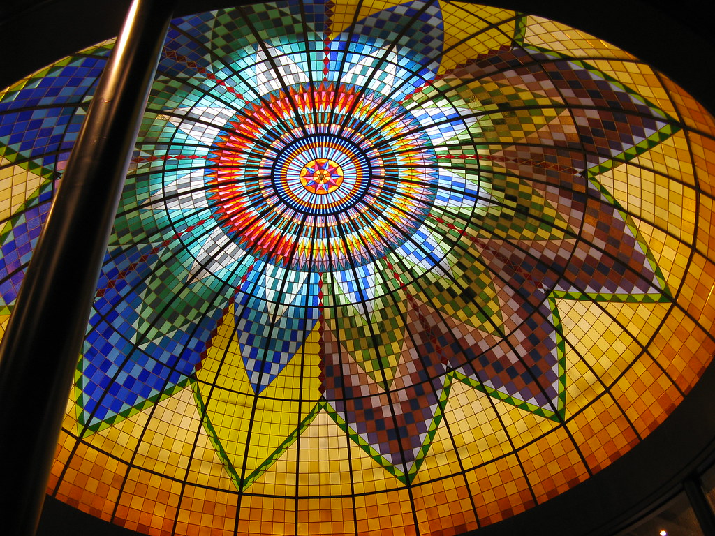Glas Den Haag.Glas In Lood Koepel Den Haag Stained Glass Dome The