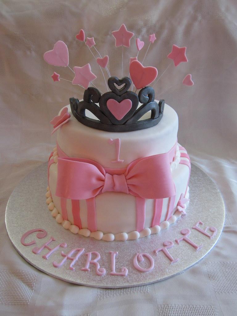 Remarkable 1St Birthday Princess Cake 1St Birthday Princess Cake Cove Flickr Funny Birthday Cards Online Kookostrdamsfinfo
