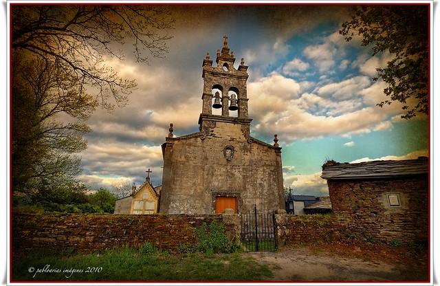 (0148) Iglesia de Loureiro de Froyán - Sarria - Lugo