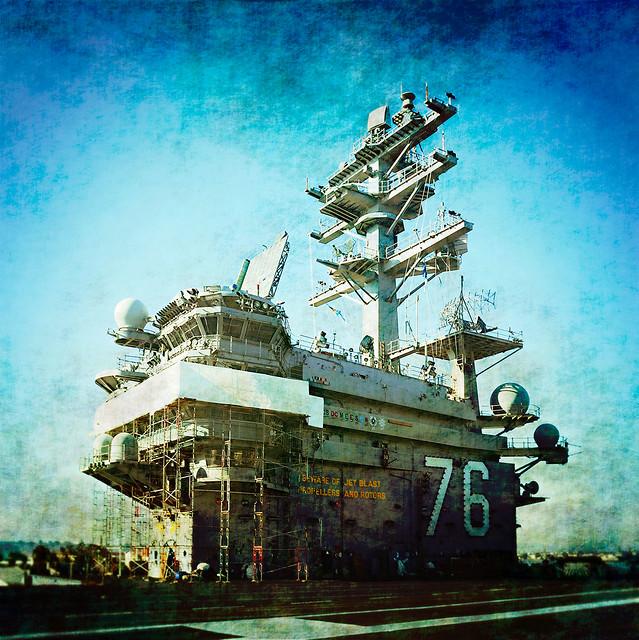 CVN-76 uss ronald reagan / prcssd. san diego, ca. 2009.