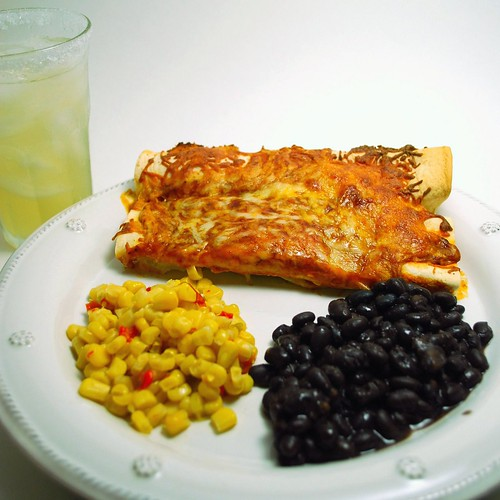 Easy Cheesy Chicken Enchiladas 2 | by VintageVictuals