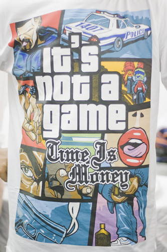 It's not a game. Time is money.