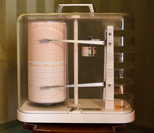 Fries Museum - Stijlkamers van het Eysingahuis - Seismograaf | by MicheleLovesArt