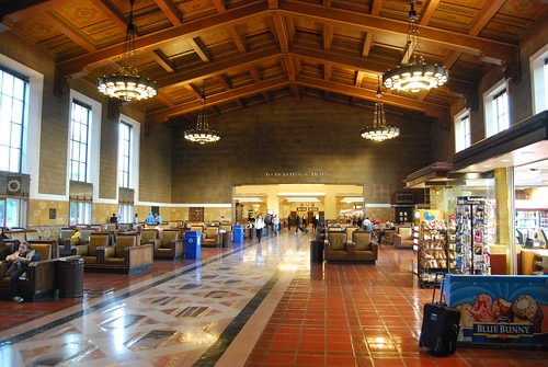 Los Angeles, CA Union Station interior | by THE Holy Hand Grenade!