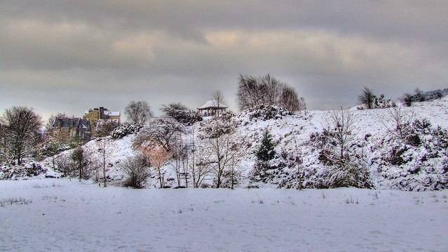 Winter On Ilkley Moor HDR