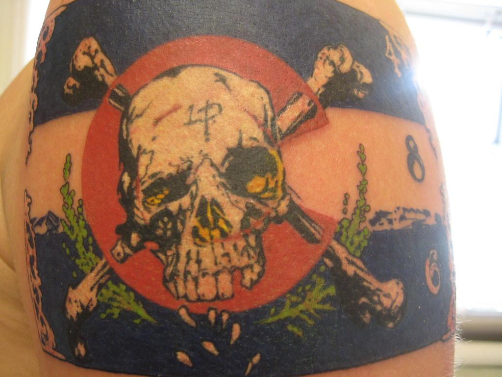 Ode To Colorado Tattoo