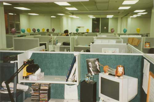 Vintage Yahoo! headquarters | Our very first bona fide corpo