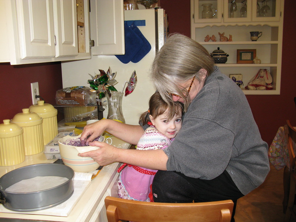 Helping Grandma Cook