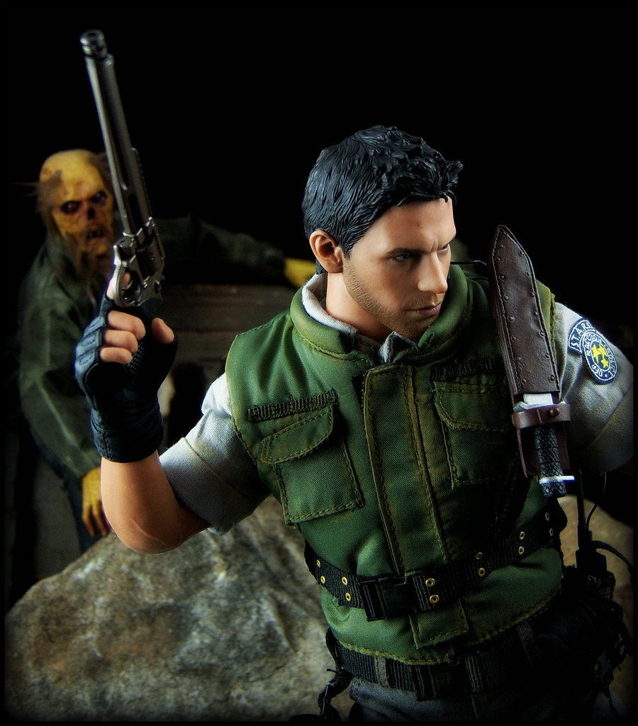 Hot Toys Resident Evil 5 Chris Redfield S T A R S Version A