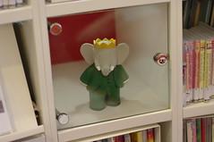 Babar figurine @ OBA