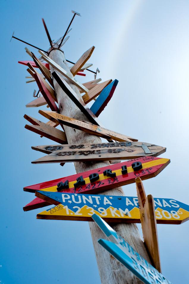 Madrid, that way...