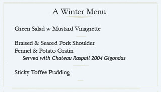 winter menu | by giffconstable
