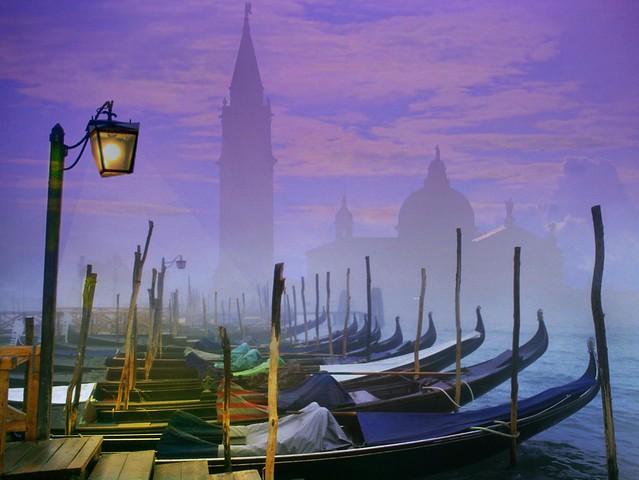 Venice at dawn__Amanecer en Venezia