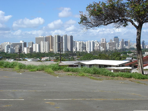 WaikikiFromOClub   by April M. Williams