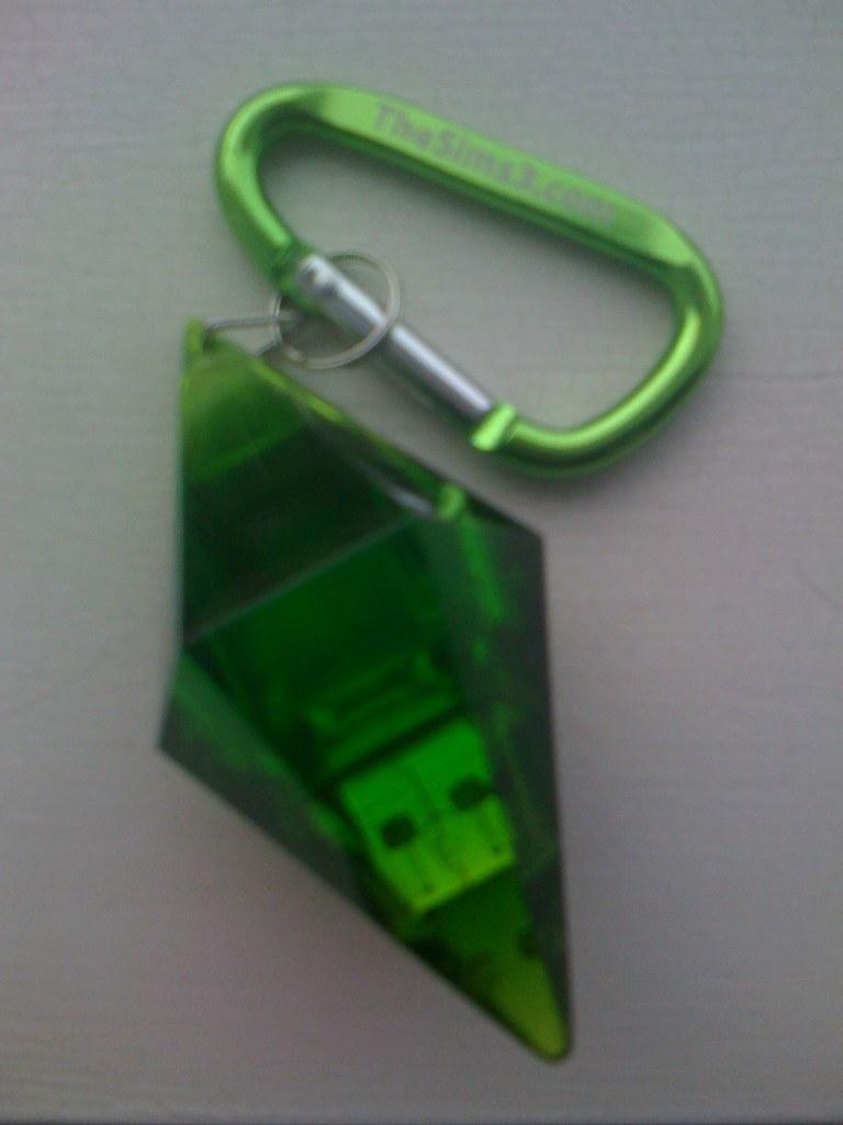 Plumbob USB Drive | 2GB Plumbob USB Drive from The Sims 3 Co